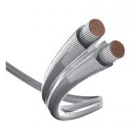 Inakustik Premium Lautsprecherkabel Silver 2 x 2.5mm(1m)
